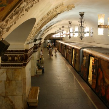 5 most interesting stations of the Moscow Metro