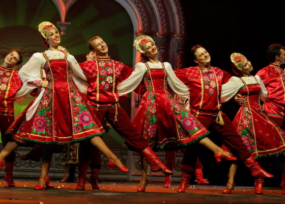 Russian folk dance show