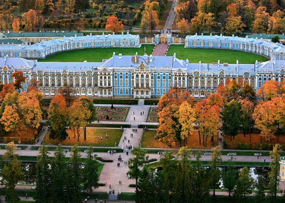 Catherine's palace in Pushkin (6 hours)