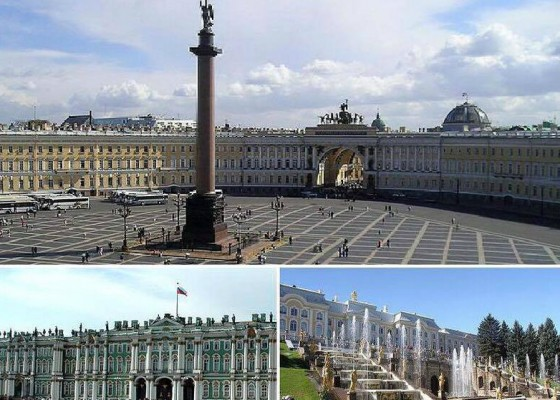 St. Petersburg 2 day tour – exclusive