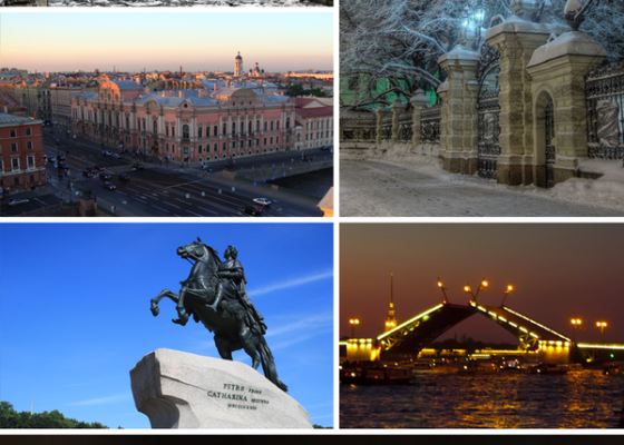 St. Petersburg 2-day city tour (basic)